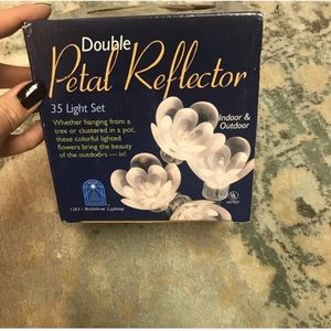 Rose pedal string lights new in the box
